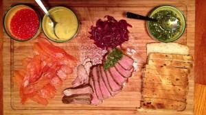 Tapas, mezze, makan kechil...a starter board!